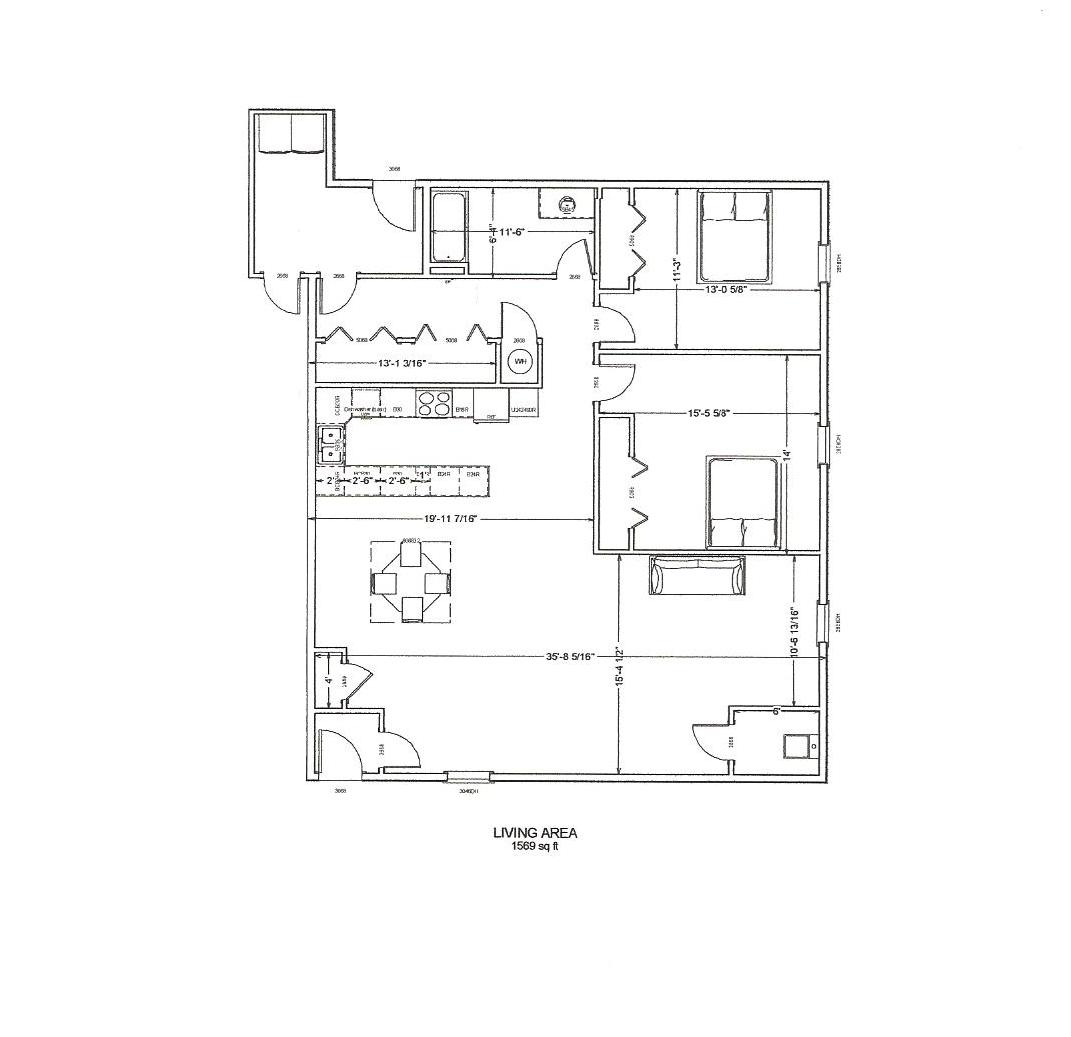 Granville storage floor plans for Rental apartment plans